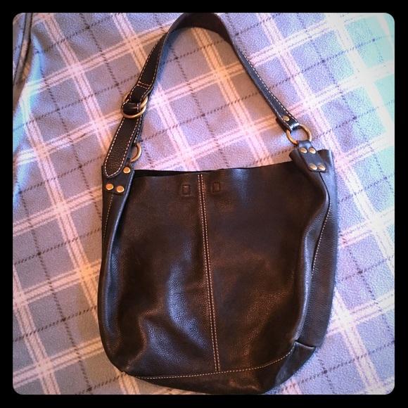 Lucky Brand Handbags - Black Lucky Brand slouchy hobo c757a803b4